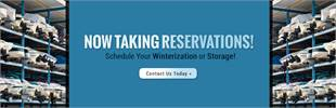Schedule your Winterization or storage. Click here to see our service!
