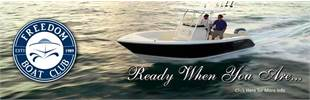 Freedom Boat Club: Ready when you are...