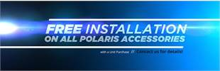 Free Installation on All Polaris Accessories with a Unit Purchase: Contact us for details!