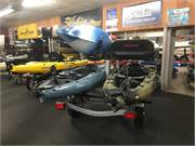 Trailblazer 2 Tier Trailer Loaded with Boats 4