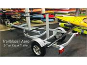 Trailblazer Aero 2 Tier Trailer Back Angle
