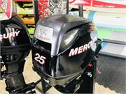 Mercury 25 HP Fourstroke Outboard New 2