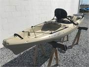 Wilderness Tarpon 120 Tan Used Kayak 2