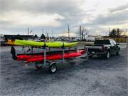 Necky Looksha 14 Kayaks Sold on Trailer