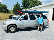 Necky Looksha 14 Kayaks on Roof Racks SOLD
