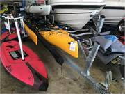 Hobie Tandem Island on Trailblazer Kayak Trailer