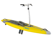 Hobie Mirage Eclipse 10.5 Yellow Angle