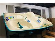 Sun Dolphin Teal Pedal Boat Display New