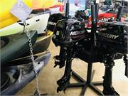 Mercury 5 HP Four Stroke Outboard New 2