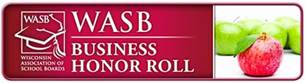 2015 Wisconsin Association of School Boards Business Honor Roll