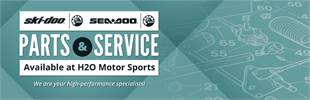 Ski-Doo & Sea-Doo Parts & Service Available at H2O Motor Sports: We are your high-performance specialists!