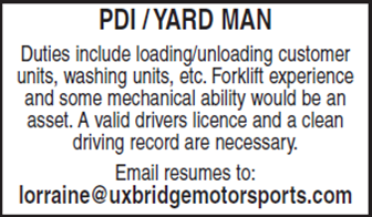 PDI Yard Man
