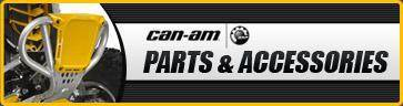 Can-Am Parts & Accessories