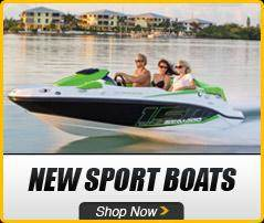 Sea-Doo: New Sport Boats