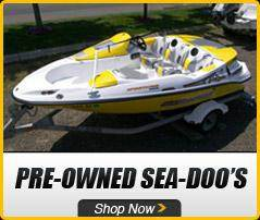 Sea-Doo: Pre-Owned Sea-Doo's