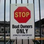 Boat owners only