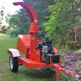 "Rental Salsco 6"" Gas Chipper"