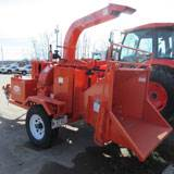 "Rental Salsco 810M 10"" Diesel Chipper"