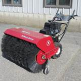 "Rental Exmark BR270KC36 36"" Walk-behind Sweeper"