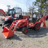 Rental Kubota BX25DLBT1 Tractor Loader Backhoe