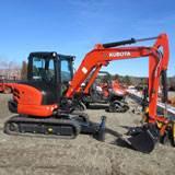 Rental Kubota KX040-4R3A Excavator