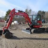 Rental Kubota KX0574R3A Excavator