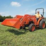 Rental Kubota L2501HST 4WD Tractor with Loader