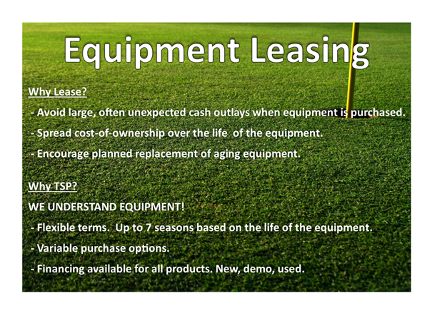 Equipemnt Lease