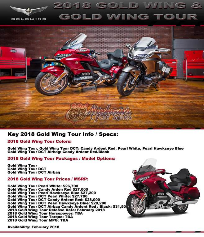 2018 gold wing info for web page - section 1