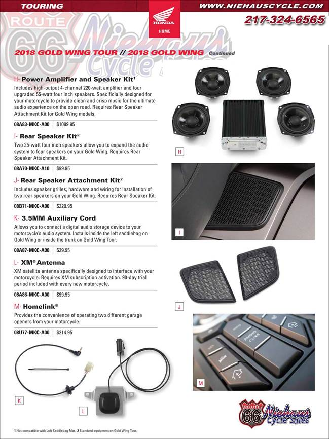 GOLD WING ACCESSORIES - NEW DEC 2017 - PAGE 10
