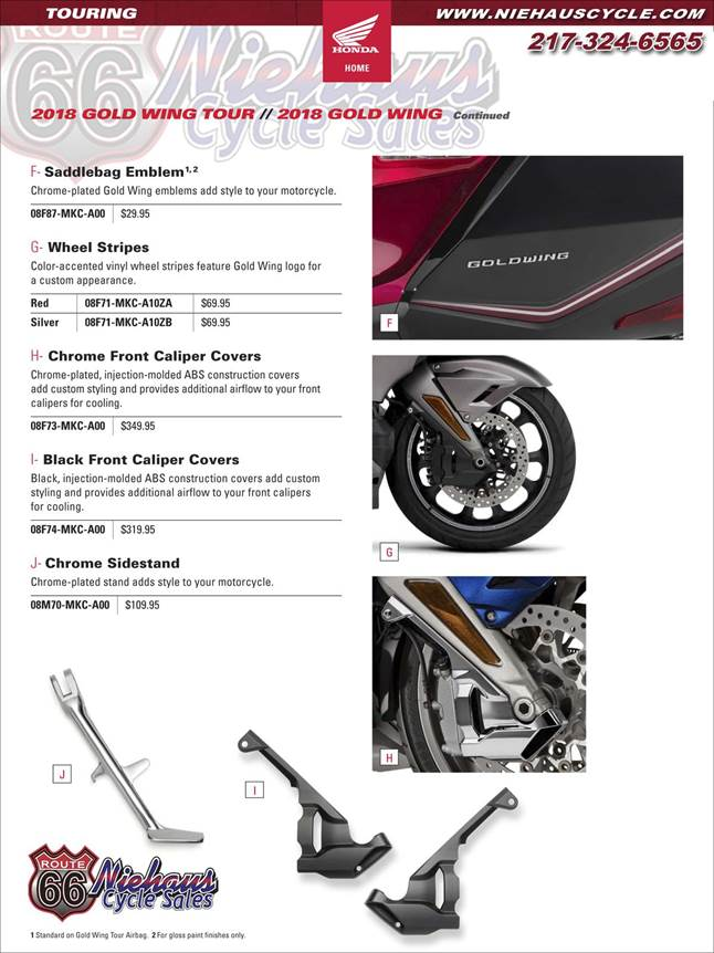 GOLD WING ACCESSORIES - NEW DEC 2017 - PAGE 6