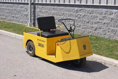 Electric Industrial Utility Vehicle