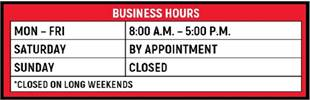 Bennett Golf Cars Business Hours