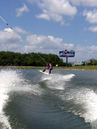 Local Wakeboarder Goes Big