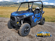 Polaris RZR 900 Blue 2 Seater Logod
