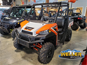 Polaris Ranger XP 900 HO Orange Logod