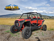 Polaris RZR Turbo XP Red 4 Seater Logod