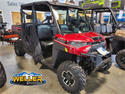 Polaris Ranger XP 1000 Red Crew Logod