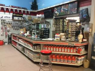 Parts and Service Counter