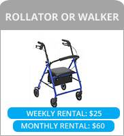 rollator or walker