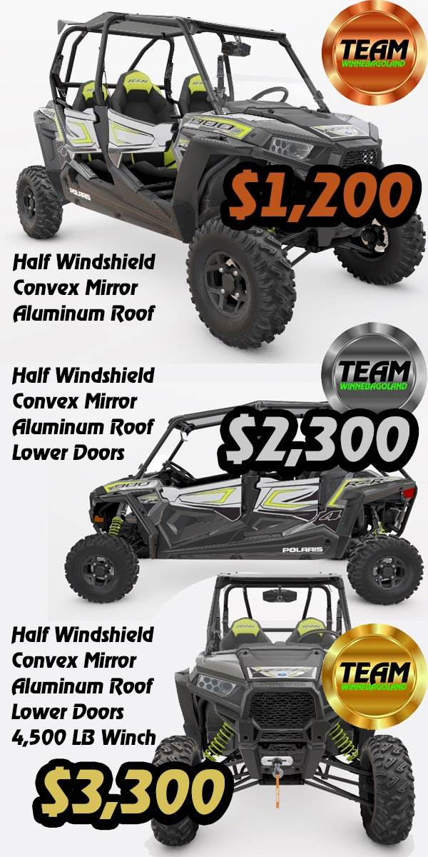 2018 Polaris RZR S4 900 EPS Accessories Near Appleton WI