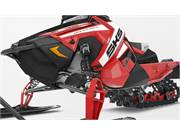 Indy Red Side Panels - 2019 Polaris 800 SKS 146 In