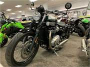 2017 Triumph Bonneville Bobber Green - near Applet