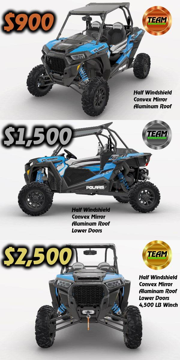 rzr xp 1000 april packages