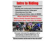 Intro to riding