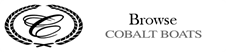 Browse Cobalt Boats