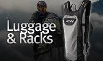 Klim Luggage and Racks