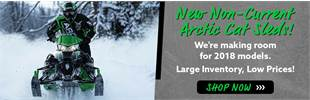 Shop New Non-current Snowmobiles - Great Prices in Fairbanks! Yamaha, Arctic Cat & More!