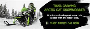 Shop Arctic Cat Snowmobiles - Largest Inventory in Alaska! Located in Fairbanks.
