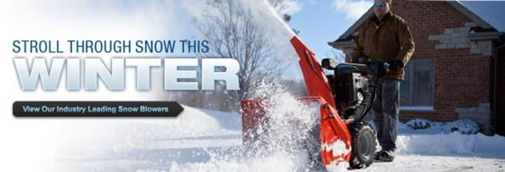 View Our Leading Industry Snow Blowers